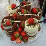 Шоколадный романтический вечер