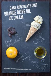 Оливковое масло, апельсин и шоколад