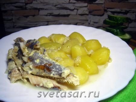 kartofel-s-ryboj-tushyonye-v-slivkax