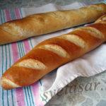 Домашние французские багеты
