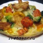 Вкусная овощная запеканка