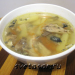 «Экспресс суп» из рыбных консервов