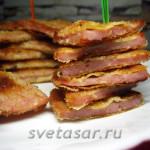 Колбаса, жареная по-ленинградски