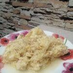 Запеканка из кабачка с курицей
